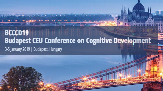 BCCCD19 – 9th Budapest CEU Conference on Cognitive Development