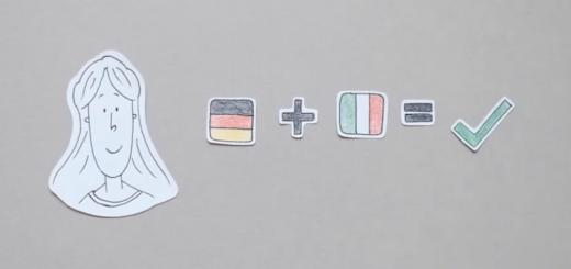 Video su acquisizione del linguaggio, multilinguismo