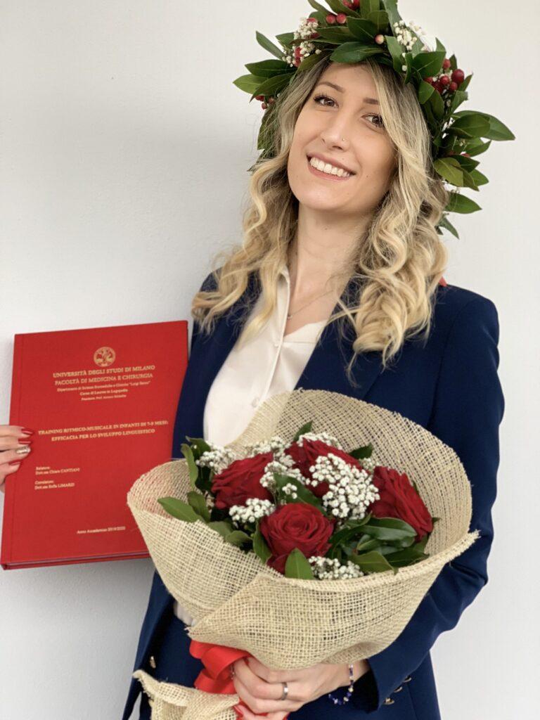 Claudia Dozio, Premio CLASTA 2021 Miglior Tesi in Logopedia